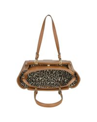 Nine West | Brown Seamingly Attached Tote | Lyst