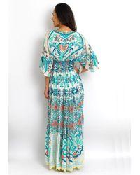 Hemant & Nandita Blue Ananda Dress