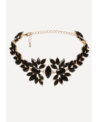 Bebe | Multicolor Lace & Stone Choker Set | Lyst