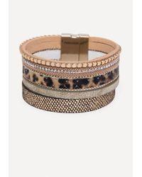 Bebe - Multicolor Mix Strand Bracelet - Lyst