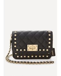 Bebe | Black Alexia Crossbody Bag | Lyst