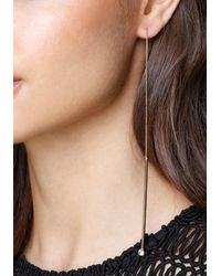 Bebe - Multicolor Drops Pull-through Earrings - Lyst