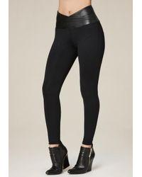 Bebe - Black Petite Super Curve Leggings - Lyst