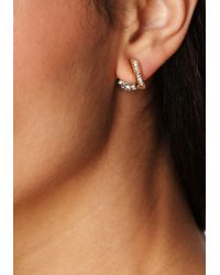 Bebe - Metallic Fireball Earrings - Lyst