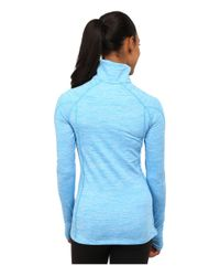 Under Armour | Blue Coldgear® Cozy 1/2 Zip | Lyst