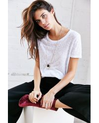 Project Social T - White Lizzie Tee - Lyst