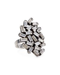 DANNIJO - Metallic Embellished Ring - Lyst
