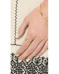 House of Harlow 1960 - Metallic Arid Ring - Gold - Lyst