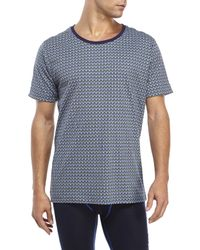 Moods Of Norway - Blue Tor Andreas Lind Printed Tee for Men - Lyst