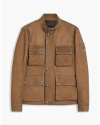 Belstaff - Brown Brad 4-pocket Field Jacket for Men - Lyst