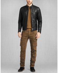 Belstaff - Black Archer Biker Jacket for Men - Lyst