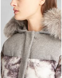 Belstaff - Gray Wilkins Down-filled Puffer Coat  - Lyst