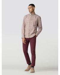 Ben Sherman - Multicolor Long Sleeve House Check Shirt for Men - Lyst