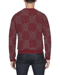 Ben Sherman - Red Buffalo Crew Neck for Men - Lyst