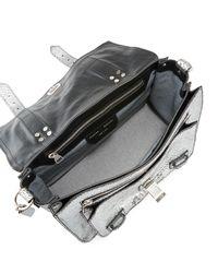 Proenza Schouler - Ps1+ Metallic Embossed Satchel Bag - Lyst