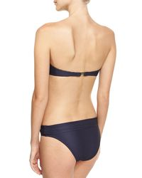Heidi Klein - Blue Hamptons V-bar Bandeau Swim Top - Lyst
