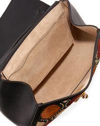 Chloé - Black Drew Small Lambskin Shoulder Bag - Lyst