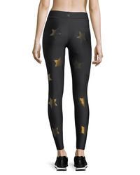Ultracor - Black Ultra Silky Knockout Star Performance Leggings - Lyst