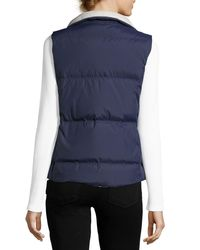 Soft Joie | Blue Hendrick Puffer Vest | Lyst