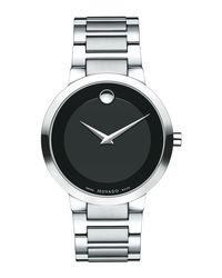 Movado - Black 39.2mm Modern Classic Watch for Men - Lyst