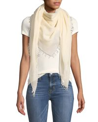 Vince - Multicolor Solid Virgin Wool Scarf - Lyst