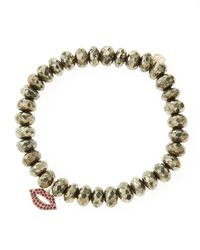 Sydney Evan - Gray Design Your Own Bracelet (made To Order) - Lyst
