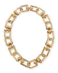 Eddie Borgo - Metallic Fame Link Necklace - Lyst