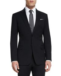 Armani - Black G-line New Basic Two-piece Wool Suit for Men - Lyst