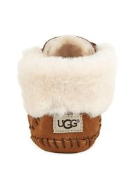 Ugg - Brown Sparrow Moccasin Bootie - Lyst