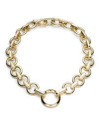 Eddie Borgo - Metallic O-ring Chain Necklace - Lyst