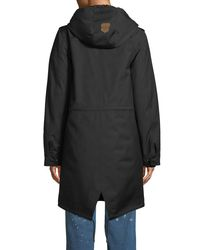 Mackage - Black Renina Two-in-one Down-filled Anorak Coat W/ Rain Shell - Lyst