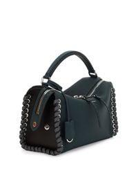 Fendi - Green Selleria Whipstitch Top-handle Bag - Lyst