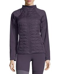 The North Face - Purple Thermoball Active Insulated Performance Jacket - Lyst
