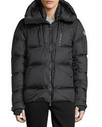 Moncler - Black Grenoble Collection Valloire Down Jacket for Men - Lyst