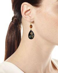 Ashley Pittman - Multicolor Ukali Dark Horn Drop Earrings - Lyst