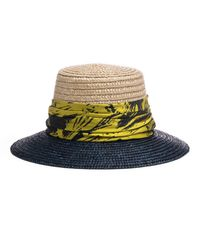 Eugenia Kim - Multicolor Stevie Two-tone Straw Sun Hat - Lyst