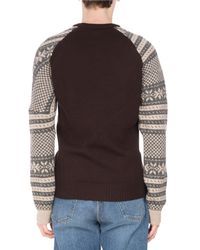 Dries Van Noten - Multicolor Tacos Geometric Snowflake Sweater for Men - Lyst