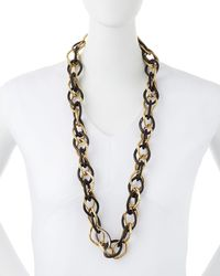 Ashley Pittman - Metallic Kamba Necklace Dark Horn - Lyst