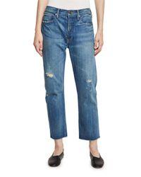 Vince | Blue Union Slouchy Denim Jeans | Lyst