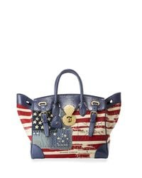 Pink Pony - Multicolor American Flag Ricky Bag - Lyst