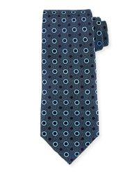 Charvet | Blue Multi-dot Silk Tie for Men | Lyst