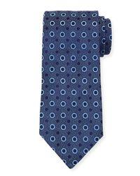 Charvet | Blue Dot-print Silk Tie for Men | Lyst