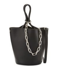 Alexander Wang | Black Roxy Large Leather Tote Bag | Lyst
