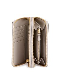 Anya Hindmarch   Gray Circulus Double Wallet   Lyst
