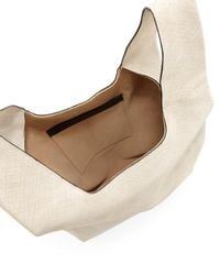 Hayward - White Saffiano Leather Shopper Tote Bag - Lyst