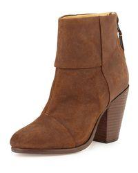 Rag & Bone | Brown Classic Newbury Leather Ankle Boot | Lyst