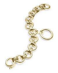 Eddie Borgo | Metallic O-ring Charm Chain Bracelet | Lyst
