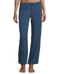 La Perla - Blue Souple Jersey Lounge Pants - Lyst