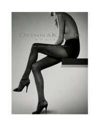 Donna Karan   Brown Signature Sueded Jersey Control Top   Lyst