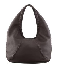 Bottega Veneta | Brown Cervo Large Hobo Bag | Lyst